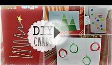 DIY Quick, Cheap & Easy Holiday Christmas Cards!