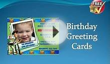Free Shipping Greeting Cards Birthday Cards | Online