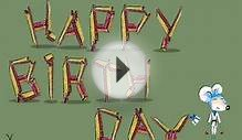 Funny Free Birthday Greeting Animated Karate E-cards