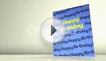 Greetings Card Happy Birthday Hd Stock Video 8824920 | HD