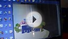 Hallmark 3D augmented reality webcam greeting cards