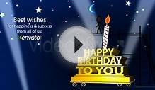 Happy Birthday Ecard - Inkman - After Effects Template