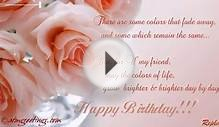 Happy Birthday Friend | Ecards | Greeting Card | 02 02