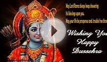 Happy Dasara/Dussehra whatsapp video greeting card - Wish