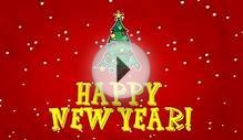 Happy New Year 2015 - cool animation greeting card footage