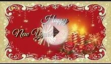 Happy New Year Greeting E-card 2015 For Sister