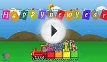 Happy New Year Greeting eCards 2014, Lovely New Year Wish