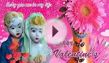 Happy valentines day greeting card, e card for husband