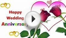 Happy Wedding Anniversary Greeting Ecard !