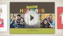 HORN PHOTO Holiday Card Video