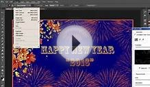 How to Create a New Year Greeting Card in Photoshop