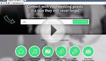 How to create your FREE online Wedding Invitation in under