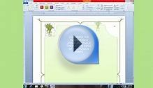 HOW TO DESIGN SEASONS GREETING CARD FRAME IN MS WORD 2007 2013