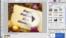 How To Make A Christmas Card For Emails