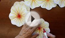 how to make a pop up flower greeting card