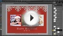 How to make FREE Holiday Christmas Card Edits in Photoshop