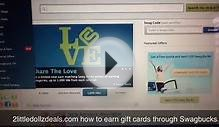 How to Use Swagbucks earn free gift cards for CVS, Target