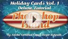 Make Photoshop Holiday Cards Vol 1 Deluxe Edition