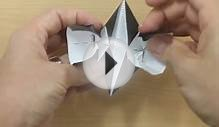Make your own origami mortarboard (graduation cap)