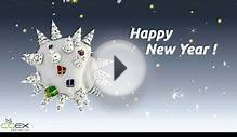 Merry Christmas and Happy New Year ! - A greeting video card