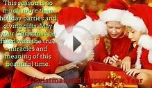 Merry Christmas Card Greetings Sayings