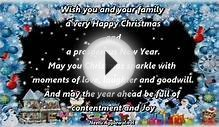 Merry Christmas & Happy New Year Wishes/Greetings/E-Card