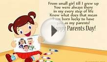 Parents Day Cards From Daughter | Parents Day Ecards From