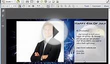 Personal PDF Pro - Watch Me Live Create PDF Greeting Cards