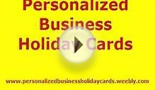 personalized business holiday cards