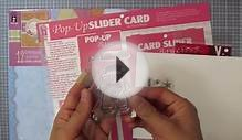 Pop-Up Slider Card Template & Small Stamps