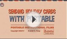 Postable - Holiday Cards Mailed For You