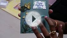 Quilled Greeting card - customized video cards delivered
