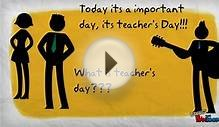 teacher;s day greeting card