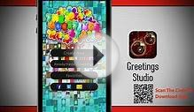 The Greetings Studio - Creative Greeting Cards Making App