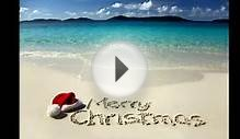 Tropical Christmas Cards Tropical Beach Christmas Cards