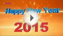 Wish You A Happy New Year 2015 3D Animated Greeting Video