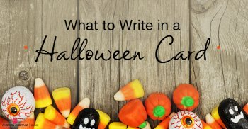 What to write in a Halloween card